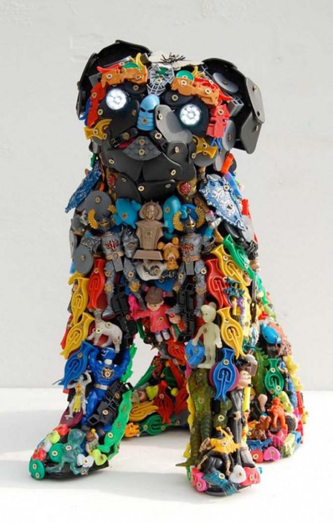 игрушки из мусора картинки