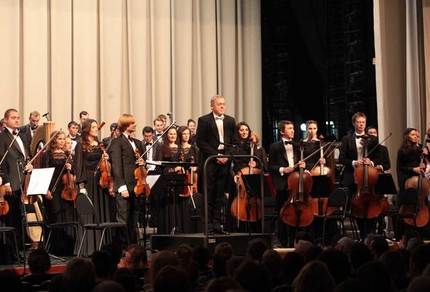Тюменский государственный симфонический оркестр в Кургане