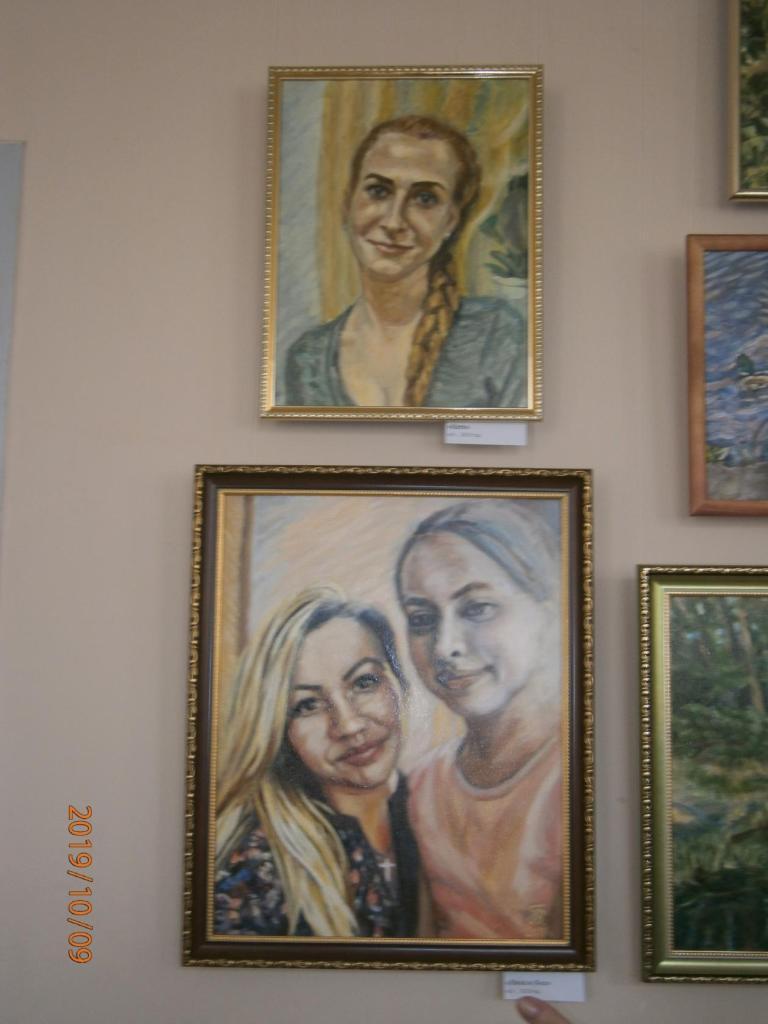 выставка «Моя семья – моё богатство» самодеятельного художника Владимира Постовалова