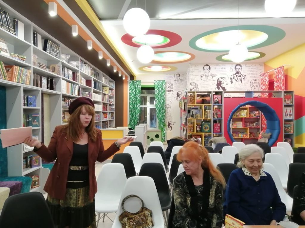Вечер-элегия состоялся в библиотеке имени Потанина