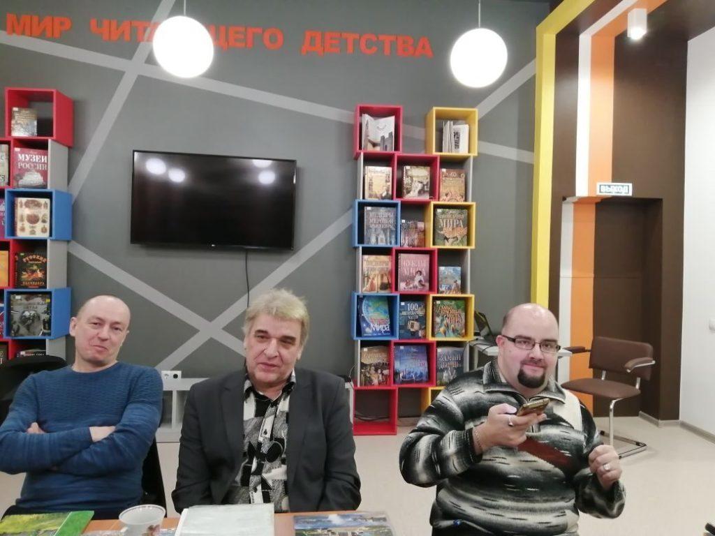 поэтический вечер в литературном клубе «Приют поэтов»